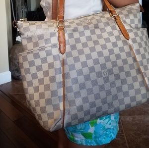 Authentic Louis Vuitton Totally Damier AzurTote PM